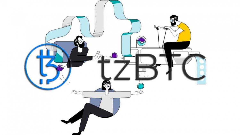 New Bitcoin token in the Tezos blockchain