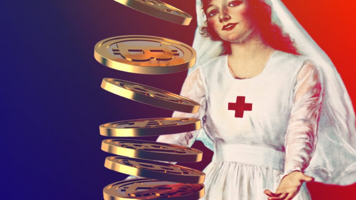 The Red Cross in Italy uses crypto donations
