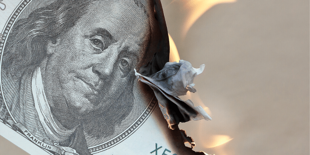 "Printing money in the United States would have a ""boomerang"" effect on the dollar"