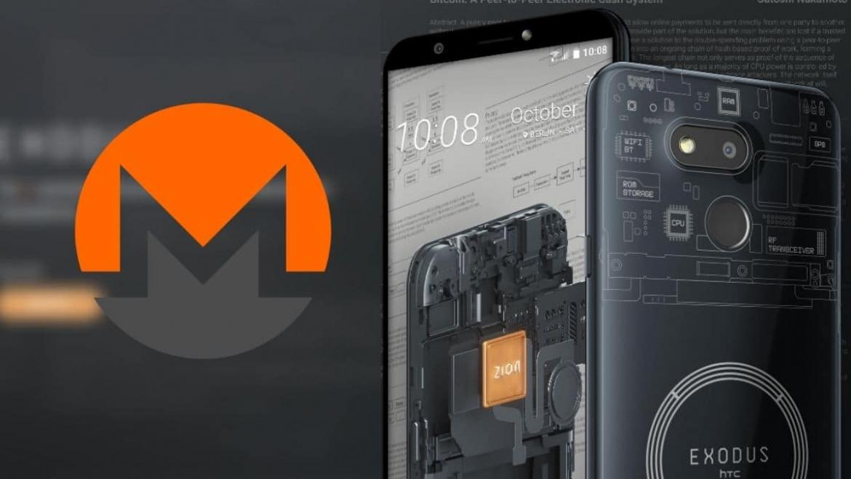 The HTC phone will dismantle Monero