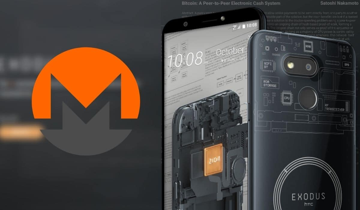The HTC phone will dismantle Monero