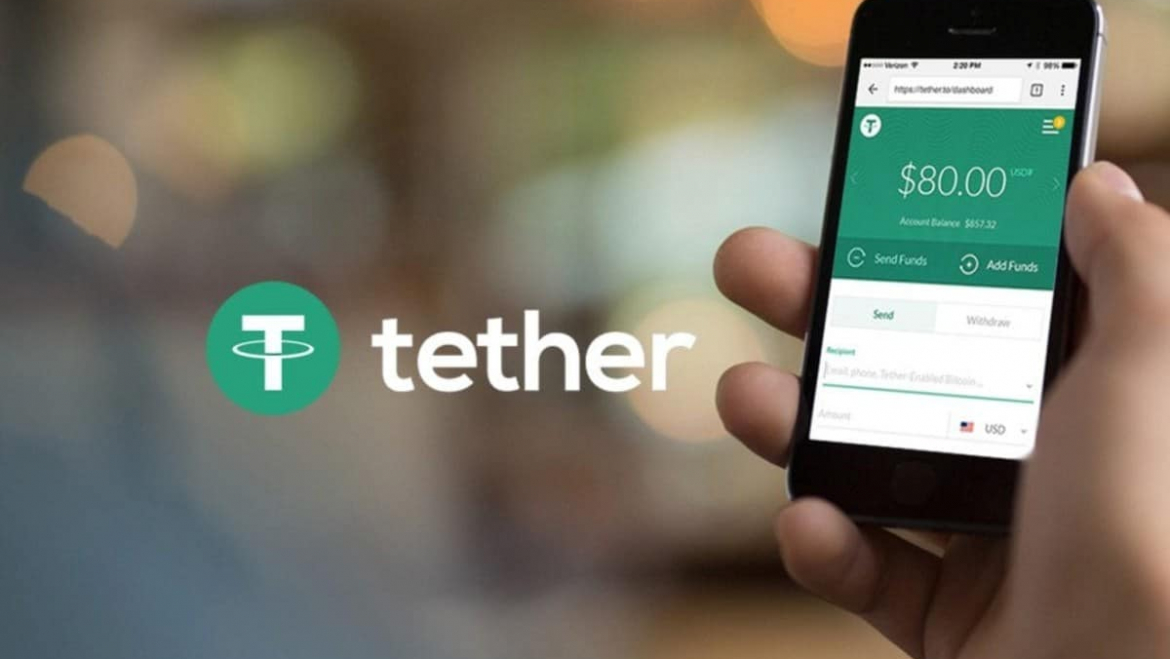 Tether consolidates by market cap