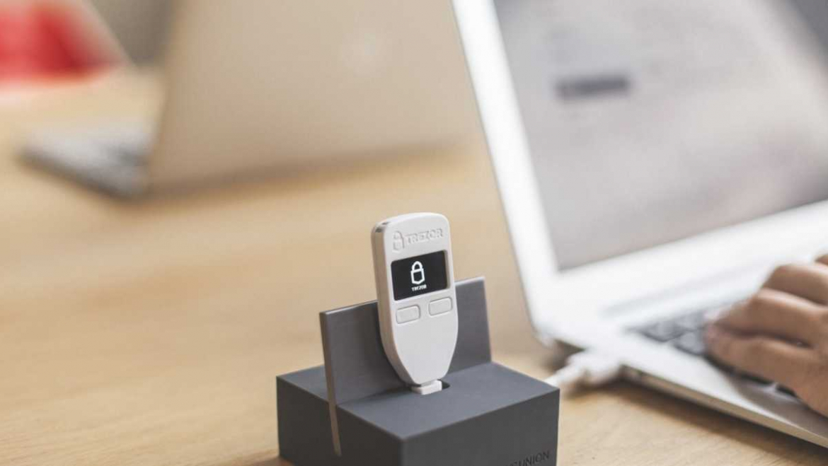 Set up your Trezor One wallet in five easy steps