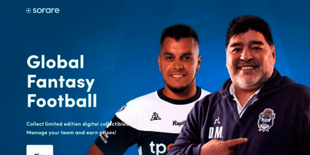 Diego Maradona is a collector's item on the Ethereum blockchain