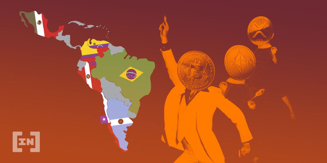 Latin America is a global leader in the growth of Bitcoin P2P trading