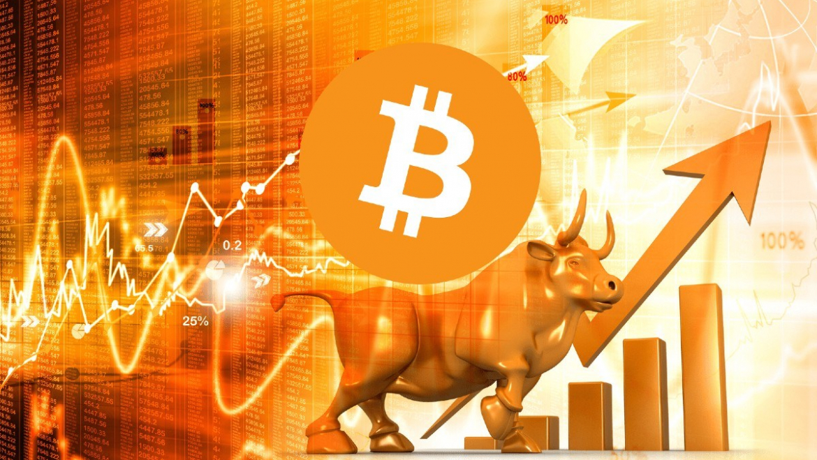 The Bitcoin price is developing positively